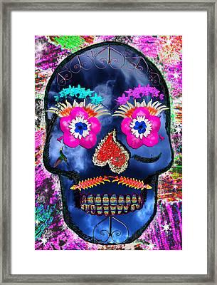 Dia De Los Muertos Framed Print by Dolly Sanchez