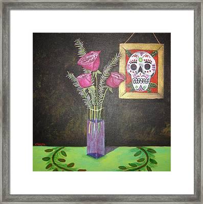 Dia De Los Muertos I Framed Print
