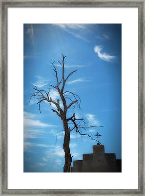Framed Print featuring the photograph Dia De Los Muertos by Lynn Geoffroy