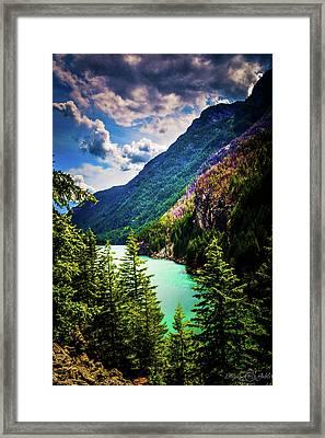 Diablo Lake Framed Print