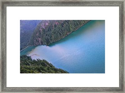 Diablo Lake Washington Framed Print by Dan Sproul