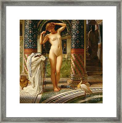 Diadumene Framed Print by Sir Edward John Poynter