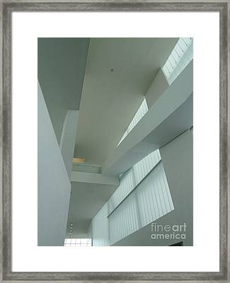 Diagonal Perspective Framed Print by Donna McLarty