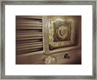 Framed Print featuring the photograph Dialing In by Olivier Calas