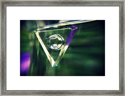 Diamond Dreams Framed Print