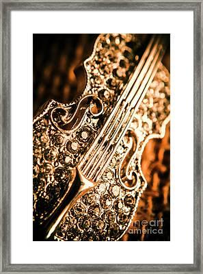 Diamond Ensemble Framed Print