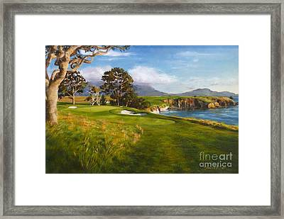 Diamond Fifth Framed Print by Shelley Cost