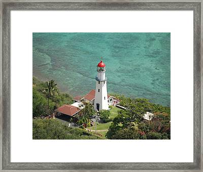 Diamond Head Lighthouse 2 Framed Print