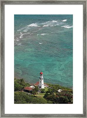 Diamond Head Lighthouse 3 Framed Print