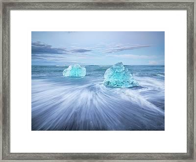 Diamond In The Rough. Framed Print