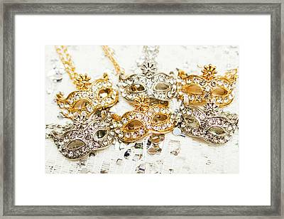Diamond Party Framed Print