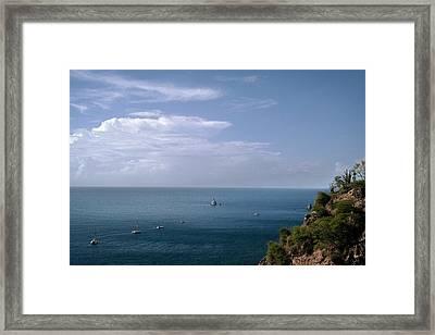 Diamond Rock Framed Print by Lloyd Southam Sebire