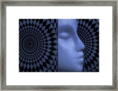 Diamond Shadow 1 Framed Print by Jeff  Gettis