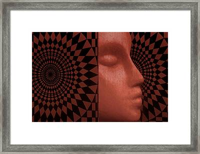 Diamond Shadow 2 Framed Print by Jeff  Gettis