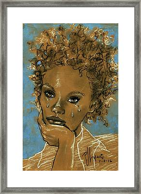 Diamond's Daughter Framed Print by P J Lewis