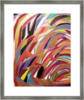 Diamonds In The Rough Framed Print by Shelly Wiseberg