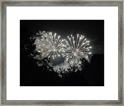 Diamonds In The Sky Framed Print