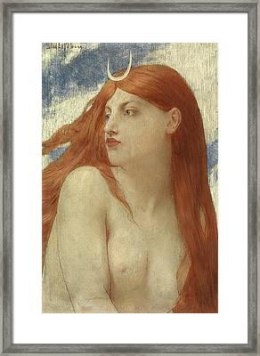 Diana, 1902 Framed Print