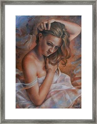 Diana 2 Framed Print by Arthur Braginsky