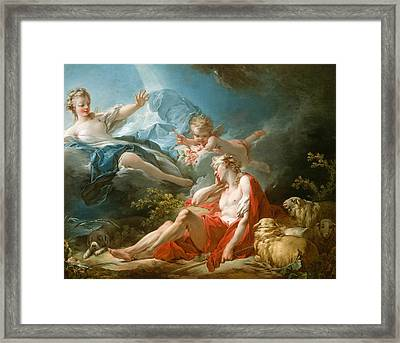 Diana And Endymion Framed Print
