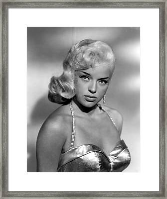 Diana Dors, Universal Pictures Framed Print