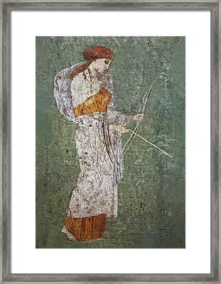 Diana Framed Print by Joachim G Pinkawa