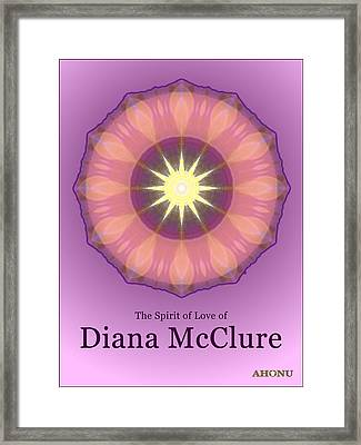 Diana Mcclure Framed Print