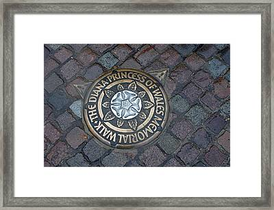 Diana Memorial Framed Print by Jez C Self