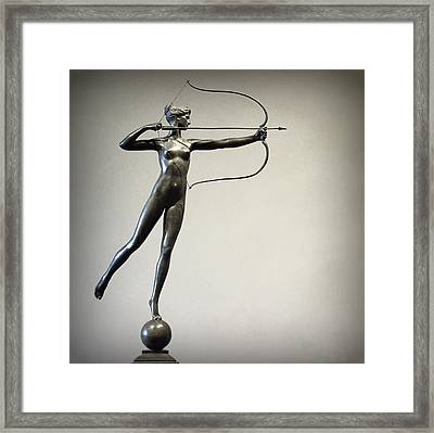Diana Of The Tower Framed Print