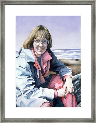 Diane Framed Print