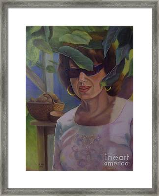 Dianne Framed Print by Marlene Book