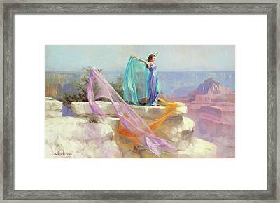 Diaphanous Framed Print