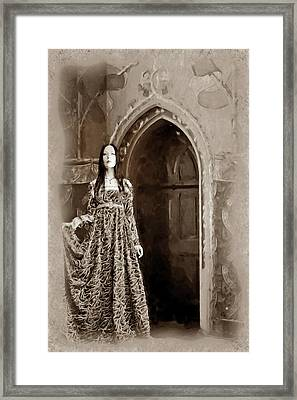 Framed Print featuring the digital art Diaphenia by Mary Morawska