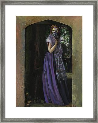 November Love Framed Print by Kd Neeley