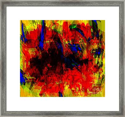 Diaspora Africaine - African And Descendants Framed Print by Fania Simon