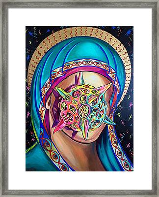 Diatomaceous Earth Mother Framed Print by Britt Kuechenmeister