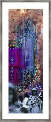 Dichotomy I Framed Print