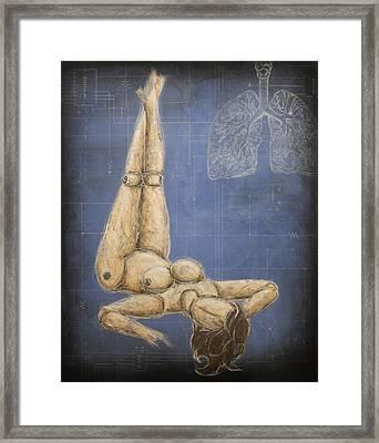 Dichotomy V Framed Print by Josh Bernstein