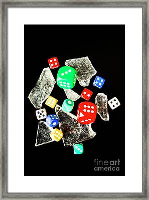 Dicing With Chance Framed Print by Jorgo Photography - Wall Art Gallery