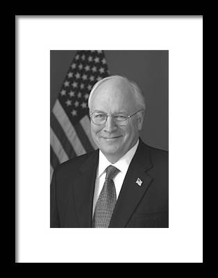 Dick Cheney Framed Prints