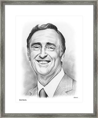 Dick Martin Framed Print