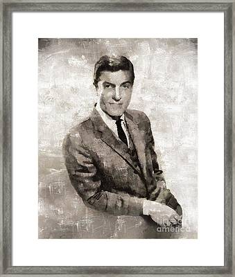 Dick Van Dyke, Actor Framed Print by Mary Bassett