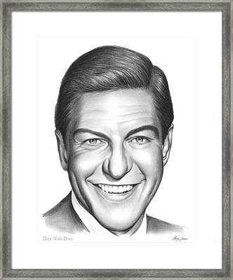 Dick Van Dyke Framed Print by Greg Joens