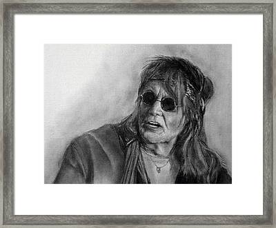 Dick Zimmerman Framed Print by Mikhail Savchenko