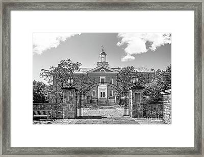 Dickinson College Weiss Center For The Arts Framed Print by University Icons