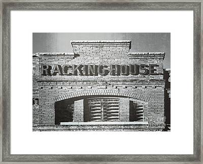 Dick's Brewery-historical Architecture  Framed Print by Luther Fine Art