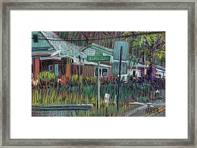 Dickson At Canton Framed Print