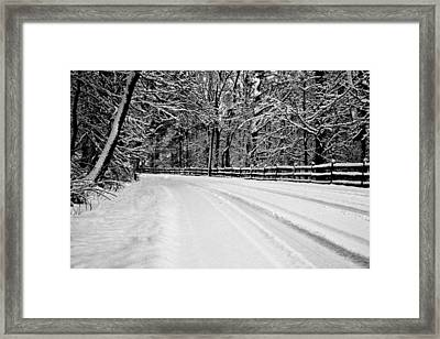 Dicksons Mill Road Framed Print