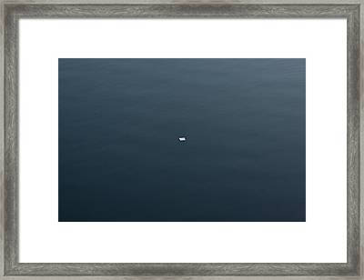 Did You Get My Note Framed Print by Robert Harshman