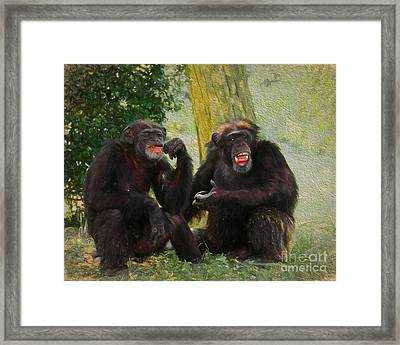 Did You See That Framed Print